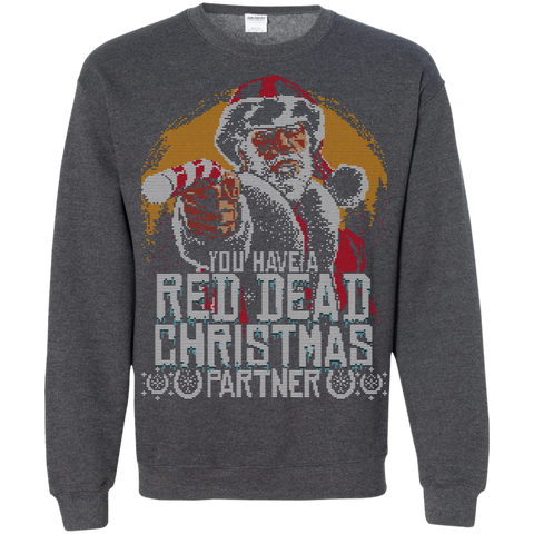 RED DEAD CHRISTMAS Crewneck Sweatshirt