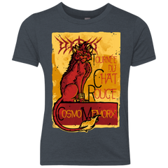 LE CHAT ROUGE Youth Triblend T-Shirt