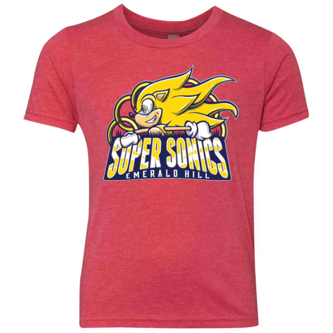 Super Sonics Youth Triblend T-Shirt