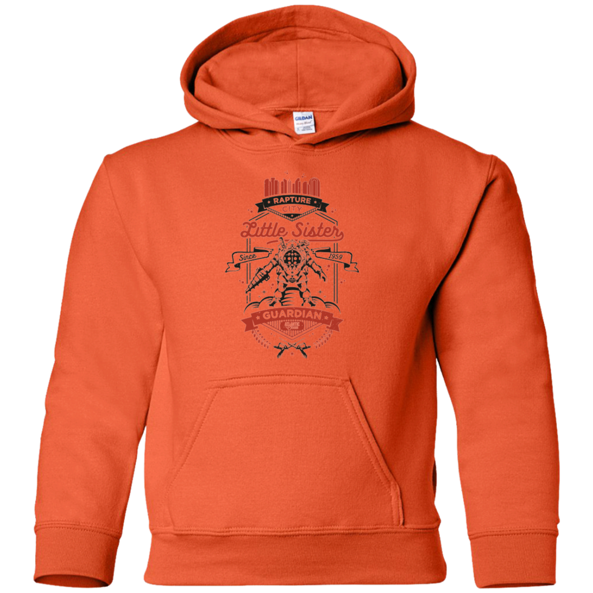 Little Sister Protector V2 Youth Hoodie
