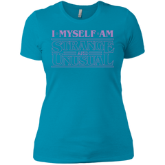 I Myself Am Strange And Unusual Women's Premium T-Shirt