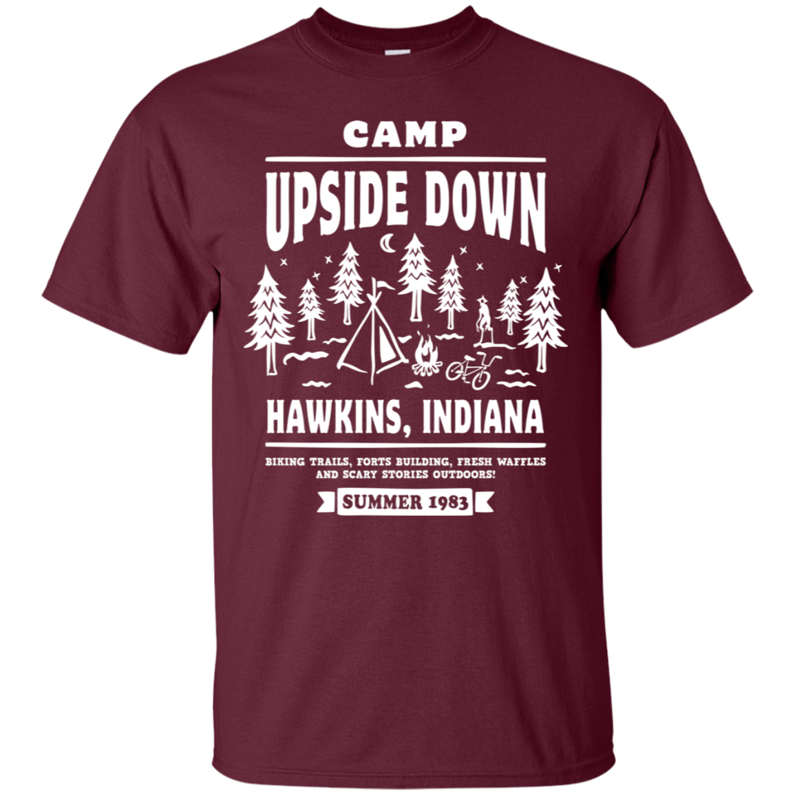 Camp Upside Down T-Shirt