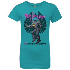 Moves Like A Jaegger Girls Premium T-Shirt