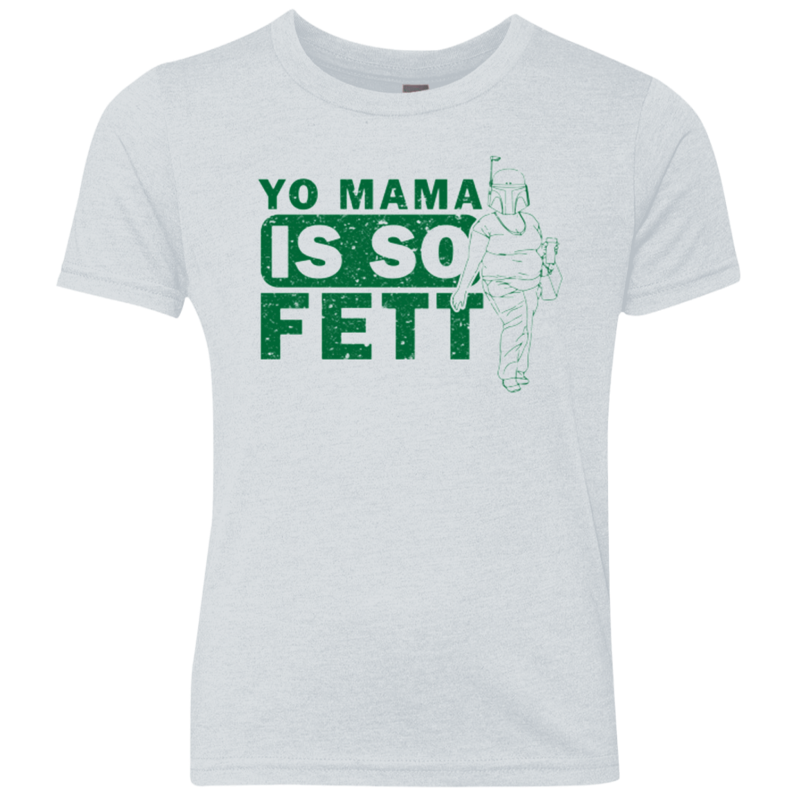 So Fett Youth Triblend T-Shirt