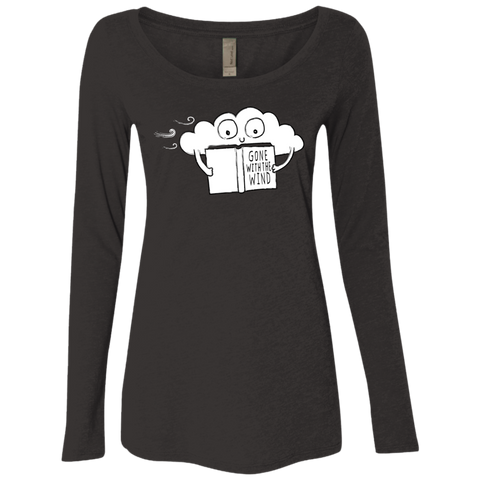 Gone with the Wind Women's Triblend Long Sleeve Shirt