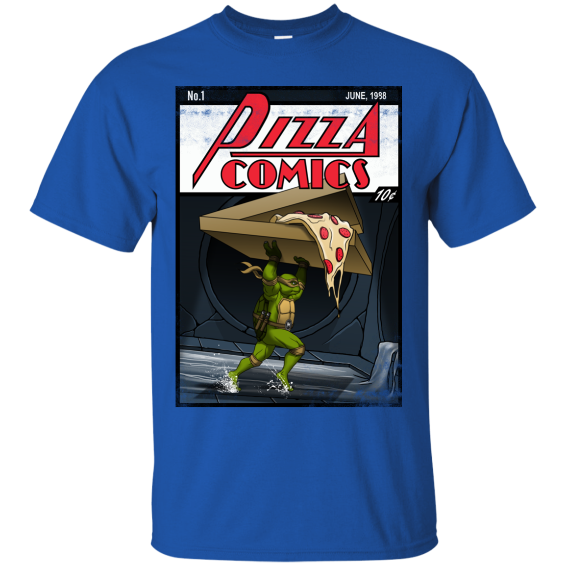 Pizza Comics T-Shirt