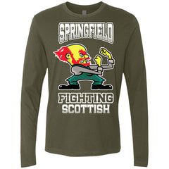 Fighting-Scotts Men's Premium Long Sleeve