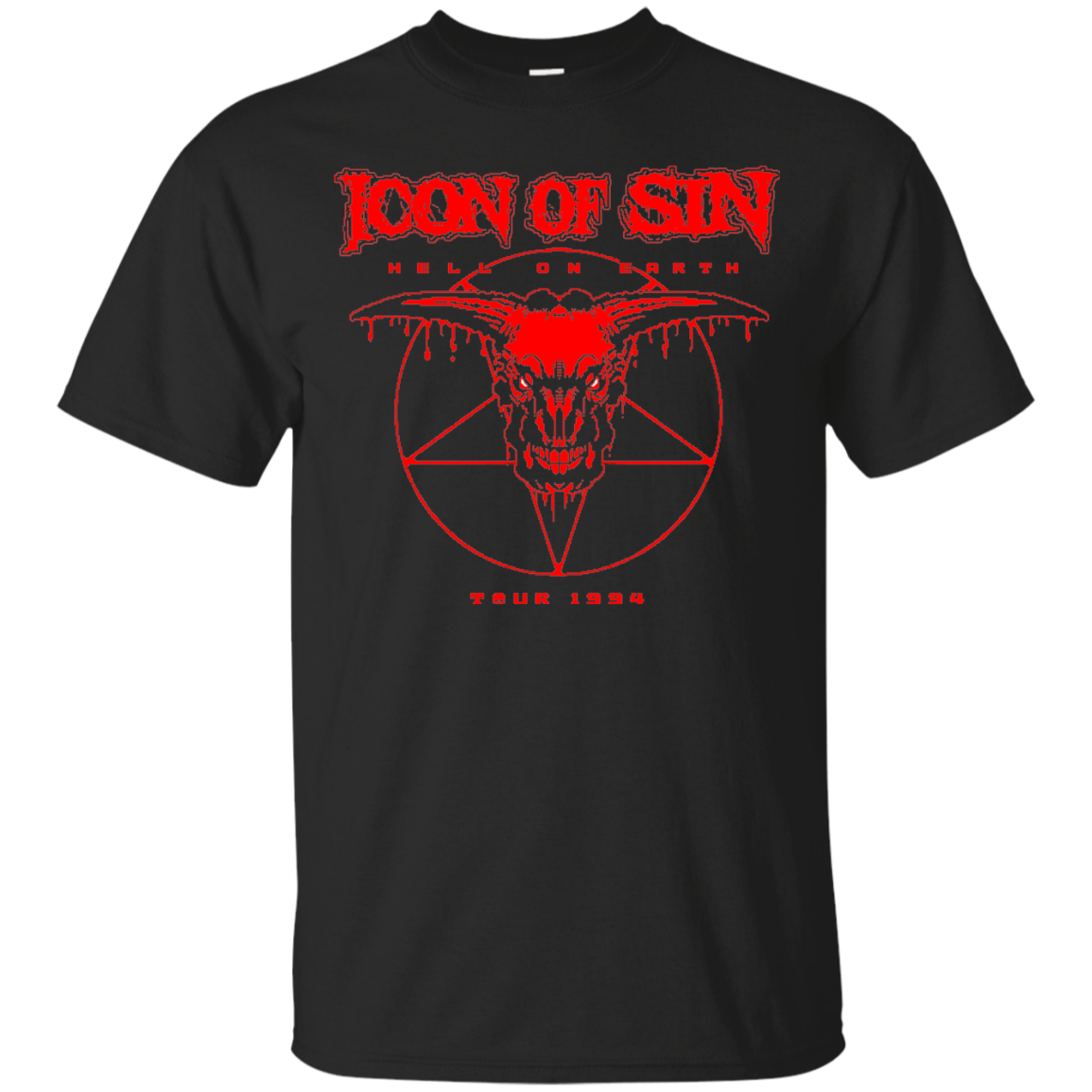 icon of sin t shirt pop up tee icon of sin t shirt