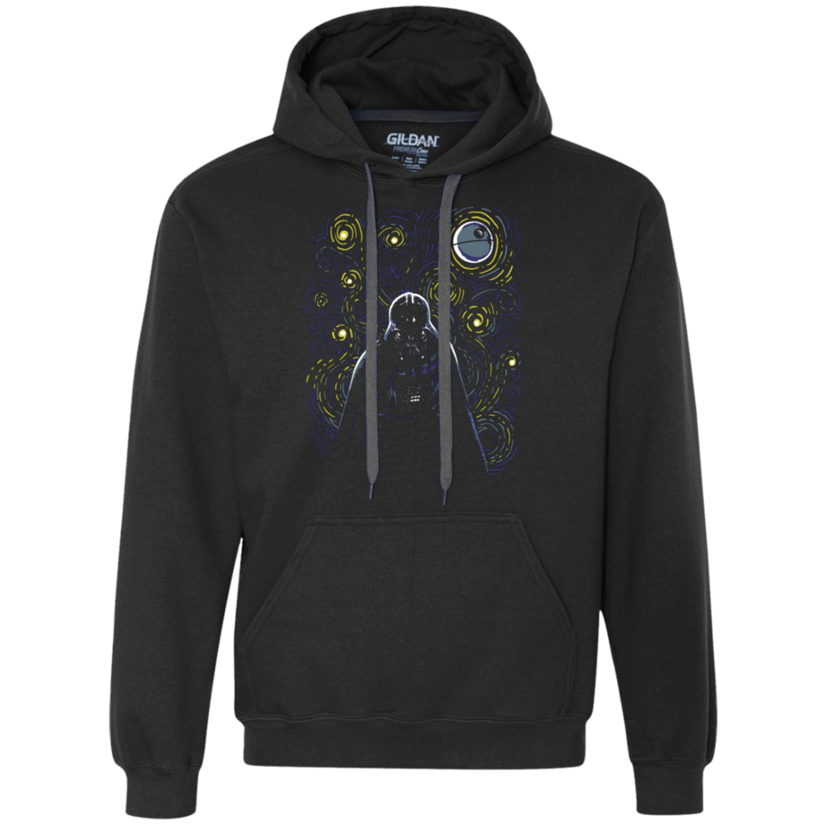 Starry Dark Side Premium Fleece Hoodie