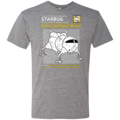 Starbug Service And Repair Manual Men's Triblend T-Shirt