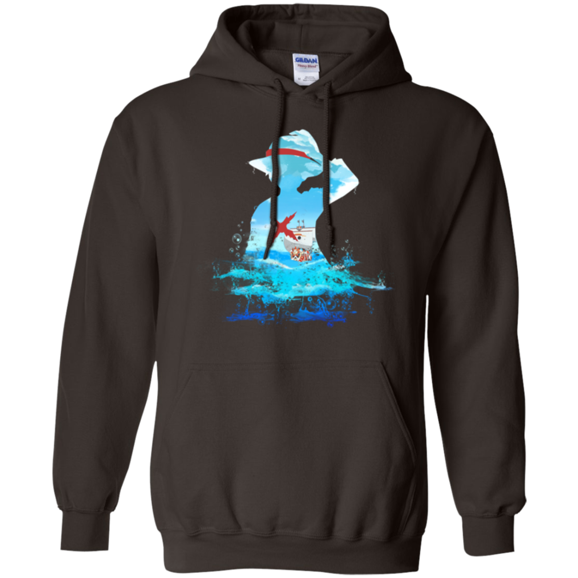 Luffy sea 2 Pullover Hoodie