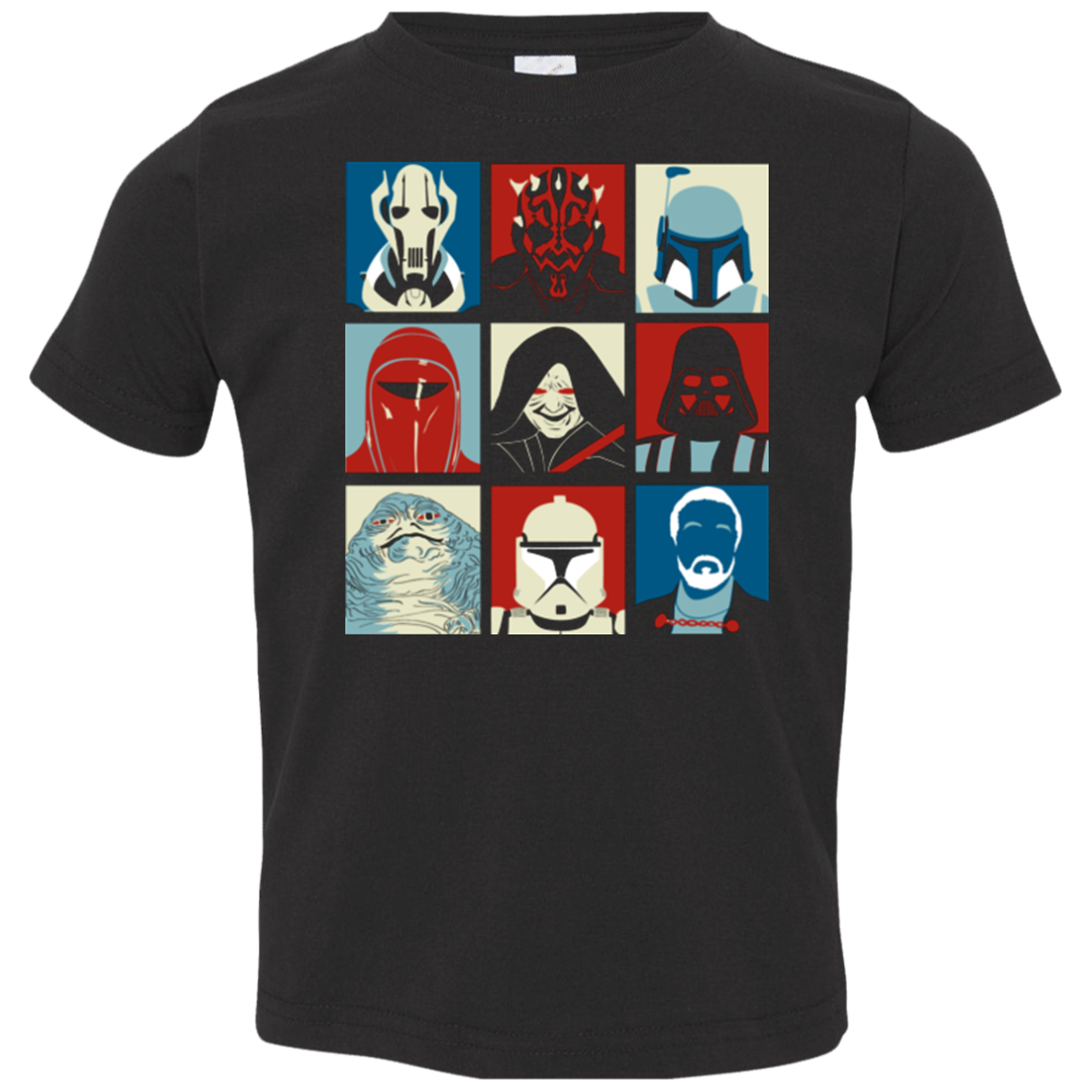 Villain Wars Pop Toddler Premium T-Shirt