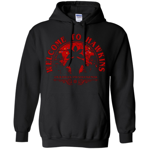 Welcome to Hawkins Pullover Hoodie