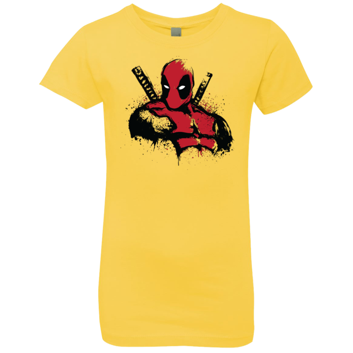 The Merc in Red Girls Premium T-Shirt