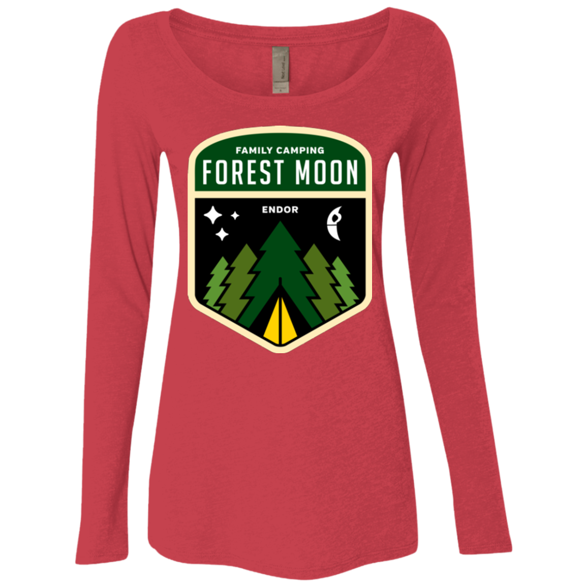 Forest Moon Women's Triblend Long Sleeve Shirt