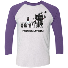 Robolution Men's Triblend 3/4 Sleeve