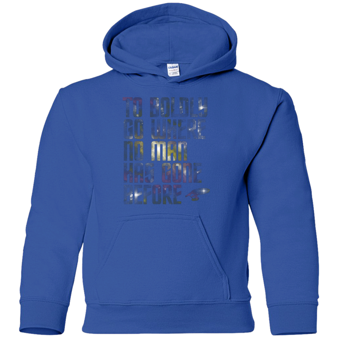 Where no Man has gone Before Youth Hoodie