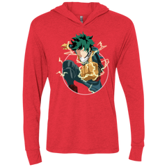 Plus Ultra Triblend Long Sleeve Hoodie Tee