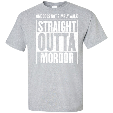 Straight Outta Mordor Tall T-Shirt