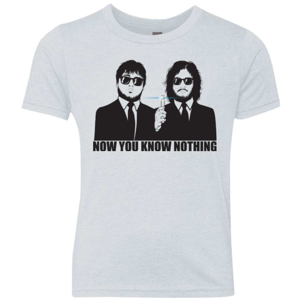 NOW YOU KNOW NOTHING Youth Triblend T-Shirt