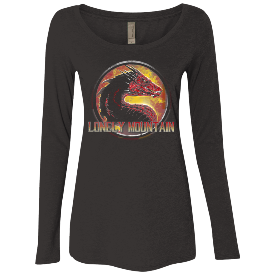 Lonely Mountain Women's Triblend Long Sleeve Shirt