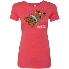 Monster is Coming Women's Triblend T-Shirt