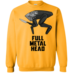 Full Metal Head Crewneck Sweatshirt