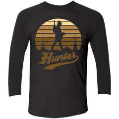 Hunter (1) Men's Triblend 3/4 Sleeve
