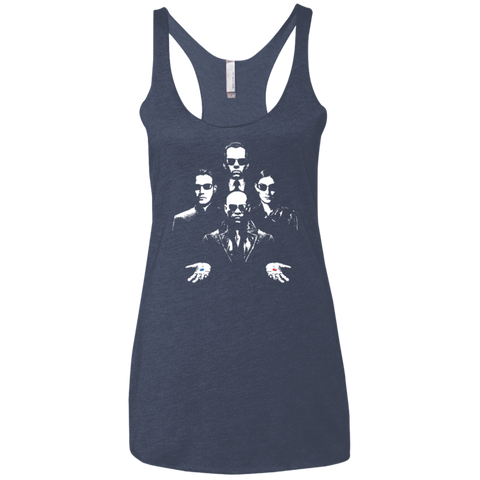 Virtual Rhapsody Women's Triblend Racerback Tank