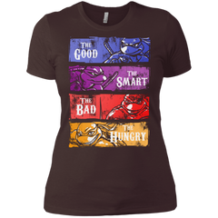 The Good, Bad, Smart and Hungry Women's Premium T-Shirt