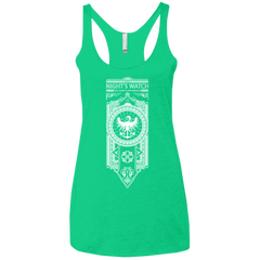 Nights Watch Women's Triblend Racerback Tank