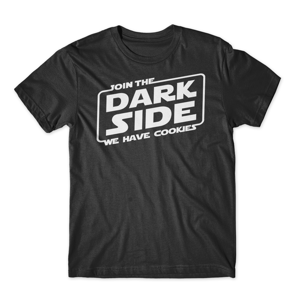 Join the Dark Side - White Ink