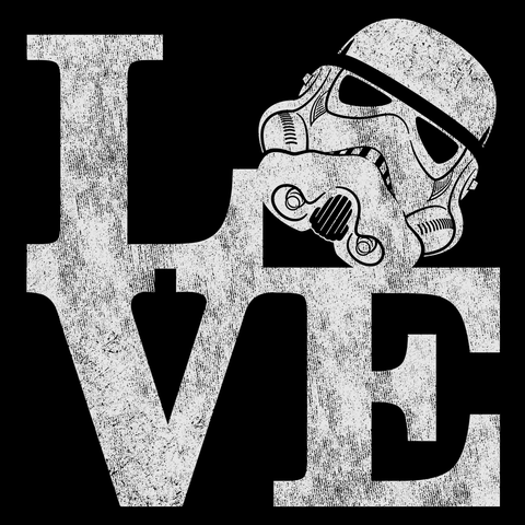 LOVE Stormtrooper