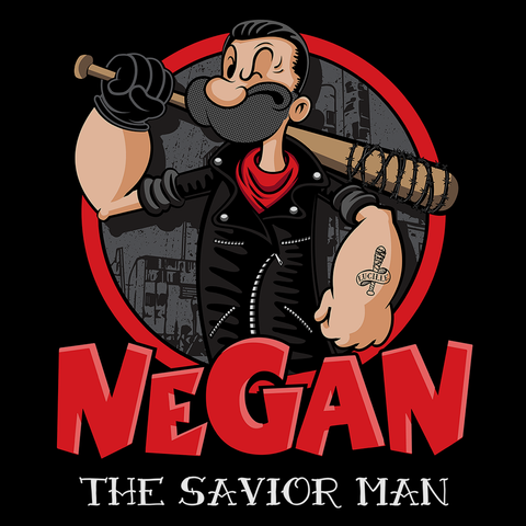 Negan the Savior Man