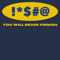 Swearing Never Finnish