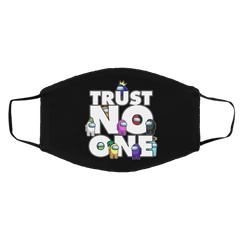 Accessories Black / One Size Among Us Trust No One Face Mask