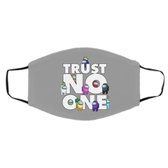 Accessories Gray / One Size Among Us Trust No One Face Mask