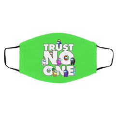 Accessories Kelly / One Size Among Us Trust No One Face Mask