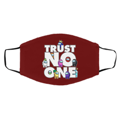 Accessories Maroon / One Size Among Us Trust No One Face Mask