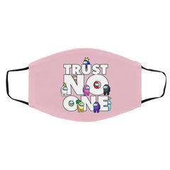 Accessories Pink / One Size Among Us Trust No One Face Mask