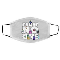 Accessories White / One Size Among Us Trust No One Face Mask