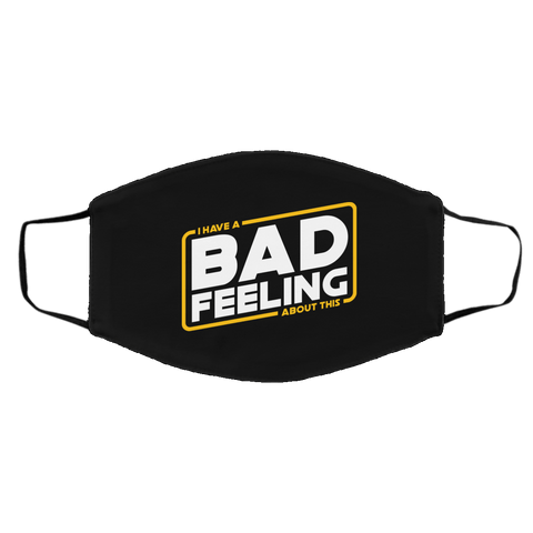 Accessories Black / One Size Bad Feeling Face Mask