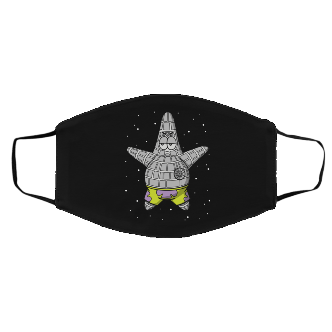 Accessories Black / One Size Death Starfish Face Mask