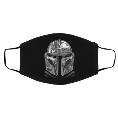 Accessories Black / One Size Helmet Mandalorian Face Mask