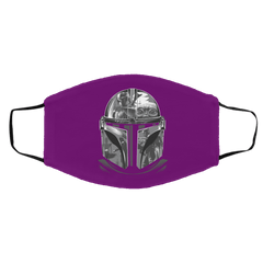 Accessories Purple / One Size Helmet Mandalorian Face Mask
