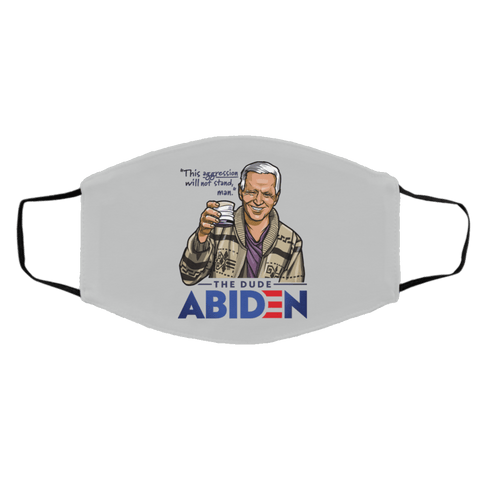 Accessories Silver / One Size The Dude Abiden st_Accessories_face-mask