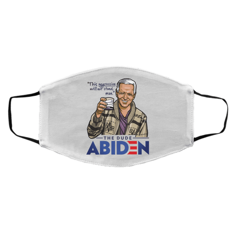 Accessories White / One Size The Dude Abiden st_Accessories_face-mask