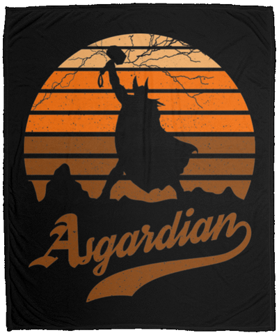 Asgardian Sun Set 50x60 MicroFleece Blanket