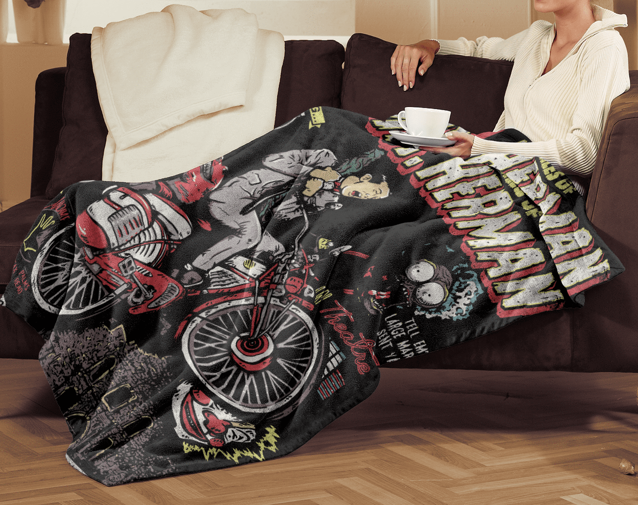 Blankets Black / One Size Astonishing Adventures 60x80 MicroFleece Blanket