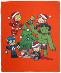 Avenger Tree 50x60 MicroFleece Blanket